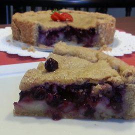 Blueberries and Vanilla Pie
