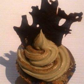 Cupcakes con castello tenebroso