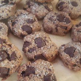 Biscotti grano saraceno nocciole e cioccolato (gluten free)