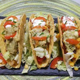 Tacos messicani con farcitura vegetale
